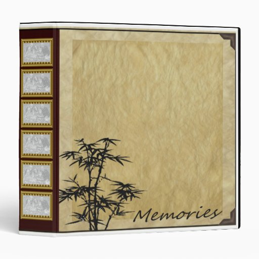 Bamboo Album 3 Ring Binders