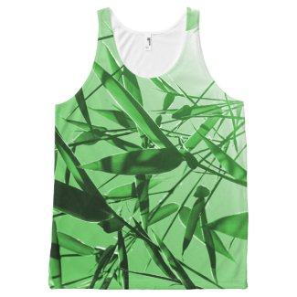 Bamboo All-Over Print Tank Top