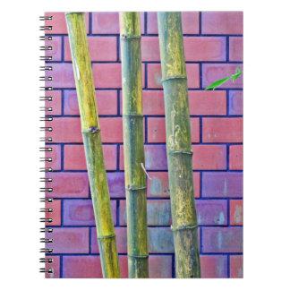 Bamboo and Bricks Notebook