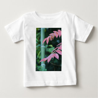 Bamboo and Leaves. Baby T-Shirt