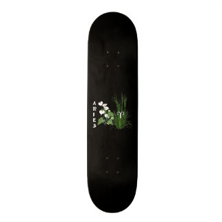 Bamboo and Lily Aries Skateboard