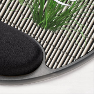 Bamboo and Lily Cancer Gel Mouse Pad