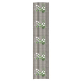 Bamboo and Lily Leo Short Table Runner
