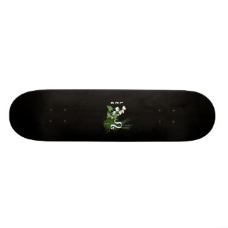 Bamboo and Lily Leo Skateboard