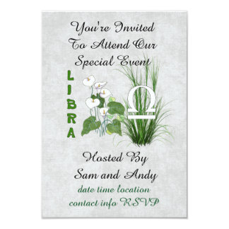 Bamboo and Lily Libra Card
