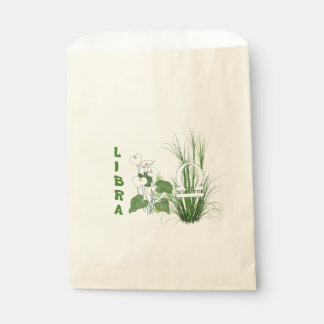 Bamboo and Lily Libra Favor Bags