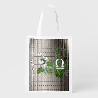 Bamboo and Lily Libra Reusable Grocery Bag