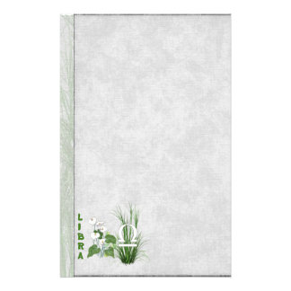 Bamboo and Lily Libra Stationery
