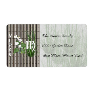 Bamboo and Lily Virgo Label