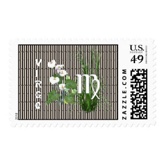 Bamboo and Lily Virgo Postage