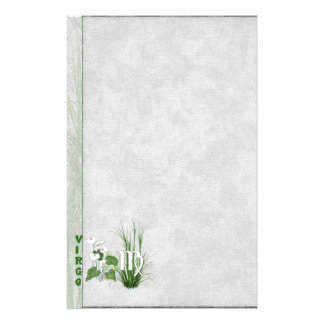 Bamboo and Lily Virgo Stationery