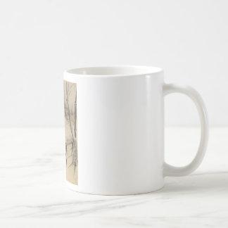 Bamboo and Orchid - Gang Self (1713-1791) Coffee Mug