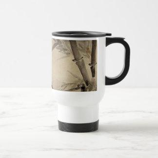 Bamboo and Orchid - Gang Self (1713-1791) Travel Mug