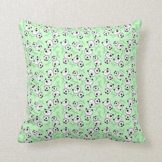 Bamboo and Panda Pattern Pillow