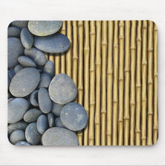 Bamboo and Stones Mouse Pad