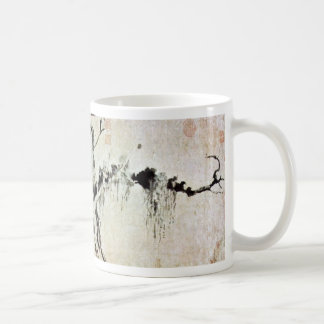 Bamboo And Weathered Tree By Wang T'Ing-Yün Classic White Coffee Mug