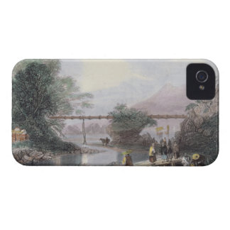Bamboo Aqueduct at Hong Kong, engraved by Henry Ad Case-Mate iPhone 4 Case