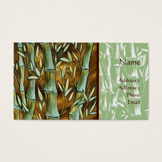Bamboo Art Business Card