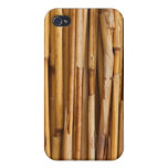 Bamboo Background Cover For iPhone 4