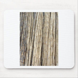 Bamboo background mouse pad