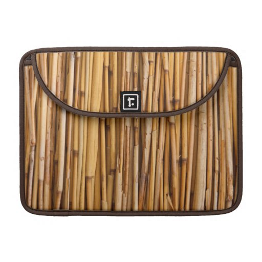 Bamboo Background Sleeve For MacBook Pro