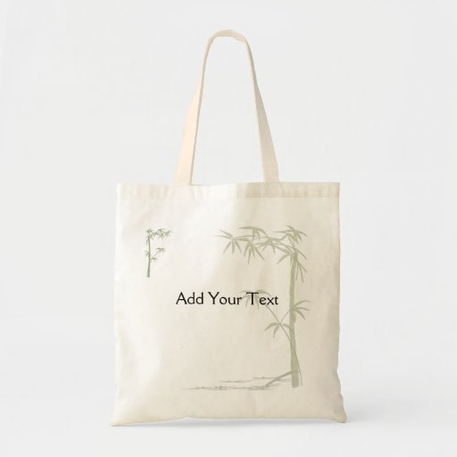 Bamboo Beauty Canvas Bags
