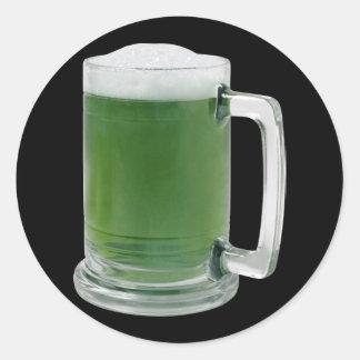 Bamboo Beer Classic Round Sticker