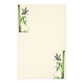 Bamboo Bird Stationary Stationery