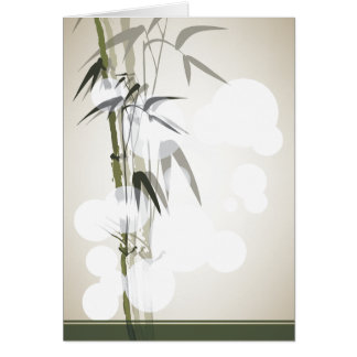 Bamboo Blank Notecard Greeting Cards