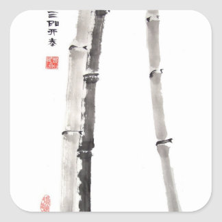 Bamboo Blessing Stickers