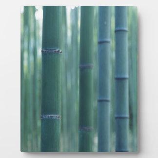 Bamboo Break Plaque