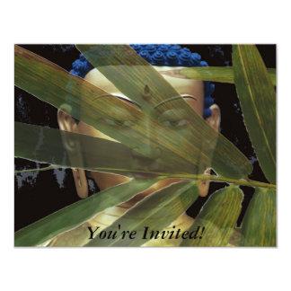 Bamboo Buddha Card