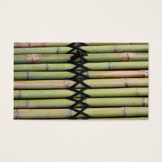 Bamboo. Business Card