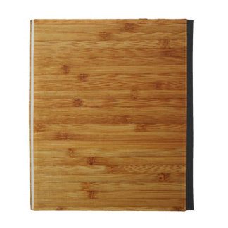 Bamboo Butcher Block iPad Cases