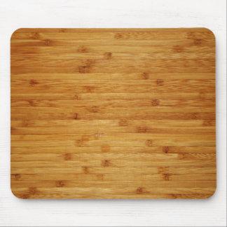 Bamboo Butcher Block Mousepads