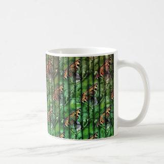 Bamboo Butterfly Design Mug