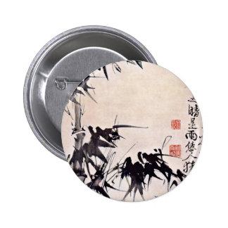 Bamboo By Hsü Wei (Best Quality) Pinback Button