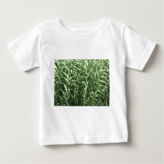 Bamboo cane trees as a background baby T-Shirt