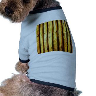 bamboo canes wood Natural Brown Texture Style Fash Dog Tshirt