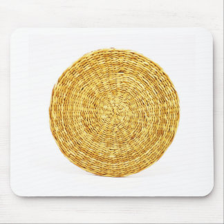 bamboo canes wood Natural Brown Texture Style Fash Mouse Pad