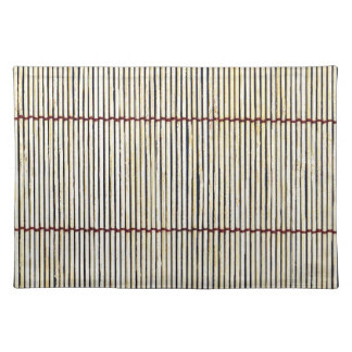 bamboo canes wood Natural Brown Texture Style Fash Placemats