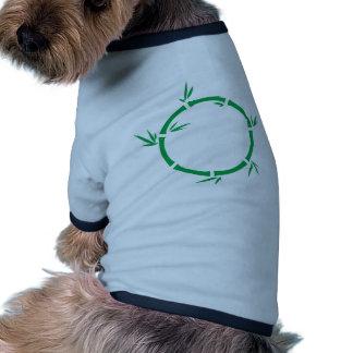 Bamboo Circle Pet Tee Shirt