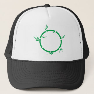 Bamboo Circle Trucker Hat