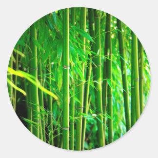 Bamboo Classic Round Sticker
