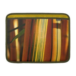 Bamboo closeup MacBook sleeve