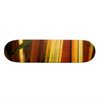 Bamboo closeup skateboard