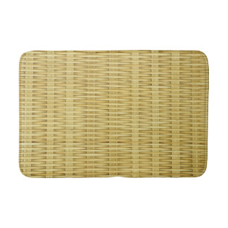 Bamboo Craft Pattern Custom Medium Bath Mat