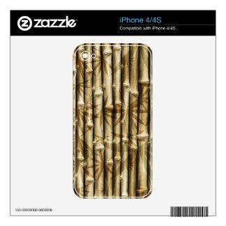 Bamboo Design iPhone 4S Decals