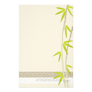 Bamboo Design stationery