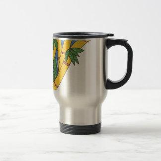 Bamboo Design Travel Mug